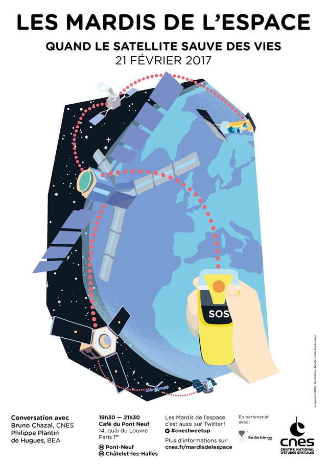 21 février 2017 - Conférence (les mardis de l'espace) - Quand le satellite sauve des vies Is-mar11