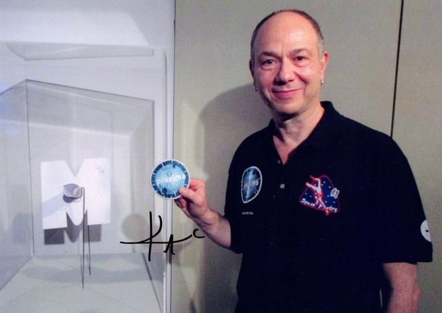 Mission Proxima - Télescope intérieur d'Eduardo Kac et interprété par Thomas Pesquet Kac_ed10