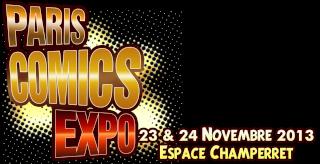 23 et 24 novembre 2013 - Paris Comics Expo Logohd10