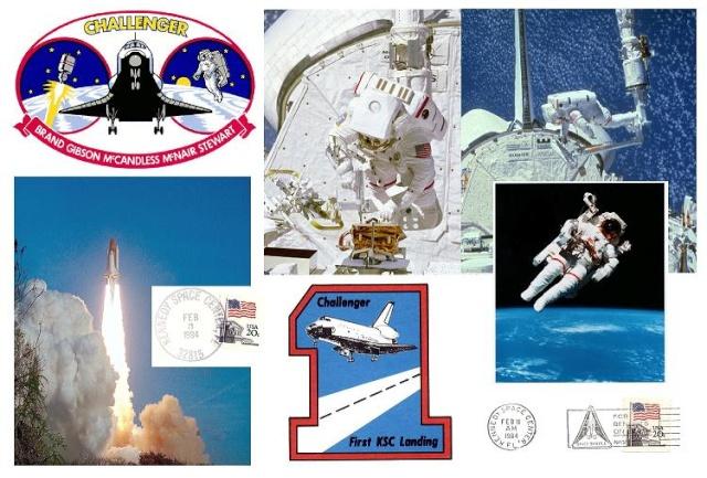 3 février 1984 - Mission STS-41B - 30ème anniversaire Mccand11