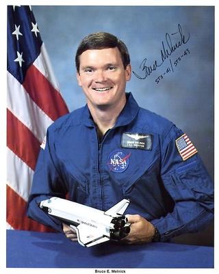 25 ans de la mission STS-49 et premier vol d'Endeavour / Interview de Bruce Melnick Melnik10