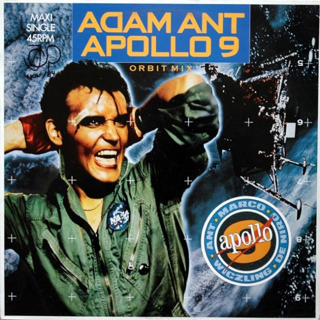 Apollo 9 et le chanteur Adam Ant Orbit10