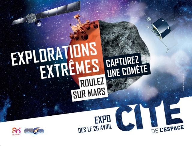 [Exposition] Cité de l'Espace à Toulouse - Explorations Extrêmes P1124010