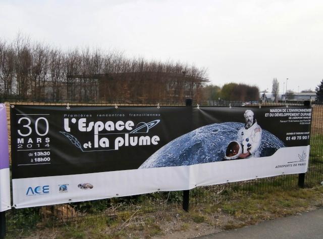 Dimanche 30 mars 2014 - Orly - Premières rencontres franciliennes L'Espace et la plume P3300010