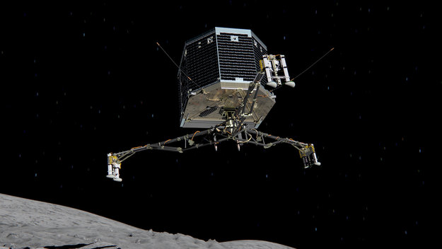 Rosetta - Réveil de la sonde / Mission / Atterrissage de Philae Philae10