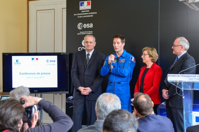 Vol spatial de Thomas Pesquet en novembre 2016 / Soyouz MS-03 / Expedition 50 et 51 Press_11