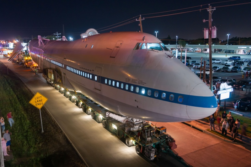 Le Boeing 747 SCA au Space Center de Houston (Texas) Sca_110