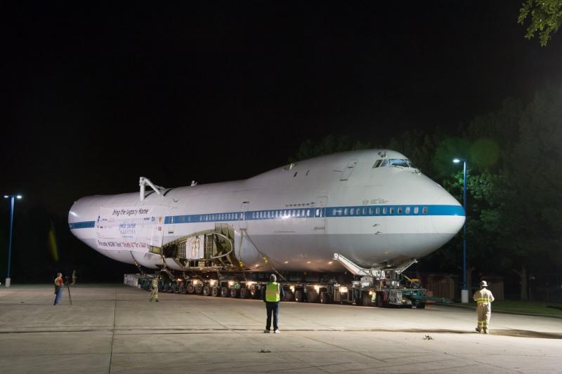 Le Boeing 747 SCA au Space Center de Houston (Texas) Sca_410