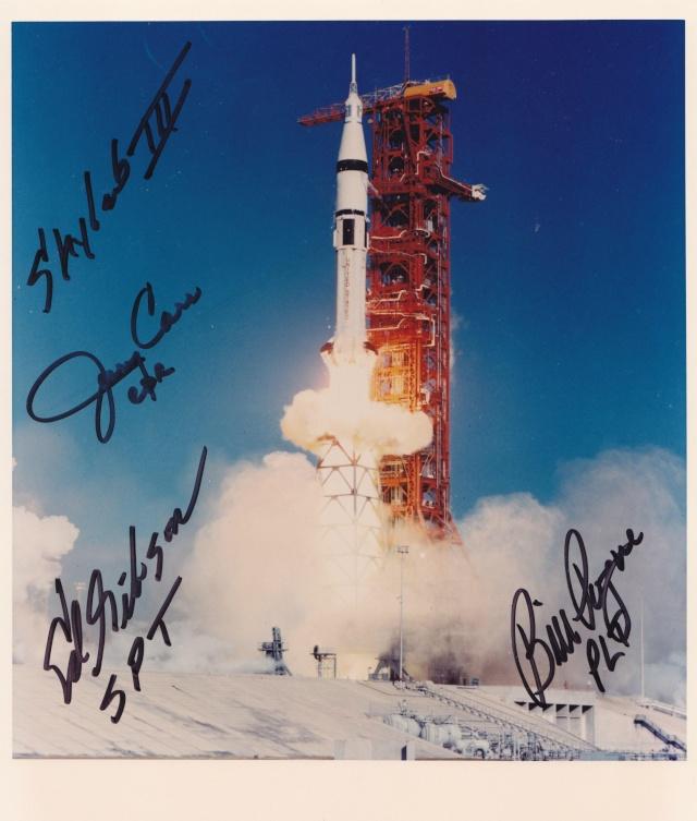 Skylab 4 - La mission - Rares Documents, Photos, et autres ... Skylab11