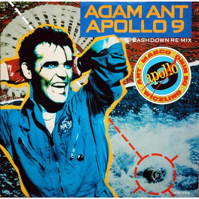 Apollo 9 et le chanteur Adam Ant Splash10