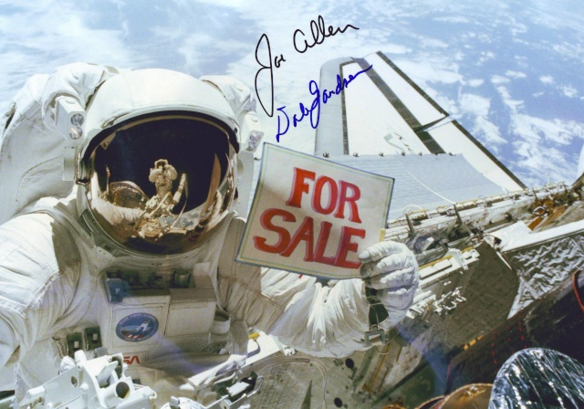 Disparition de l'astronaute Dale Gardner (1948 - 2014) Sts-5110