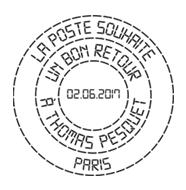 Mission Proxima de Thomas Pesquet - Émission philatélique de La Poste Tad10