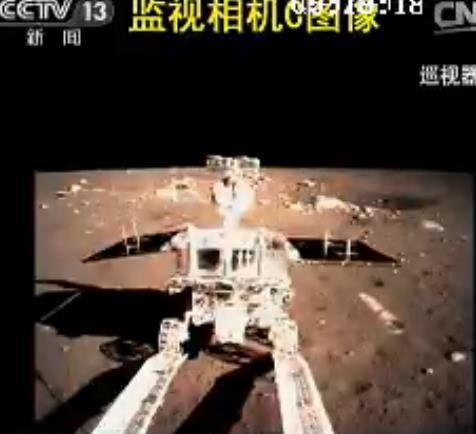 Décollage et alunissage de la sonde lunaire chinoise Chang'e 3 / rover Yutu Yutu_110
