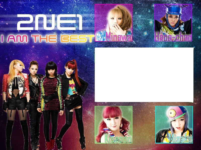 2NE1- I AM THE BEST Japanese ver. Cover10