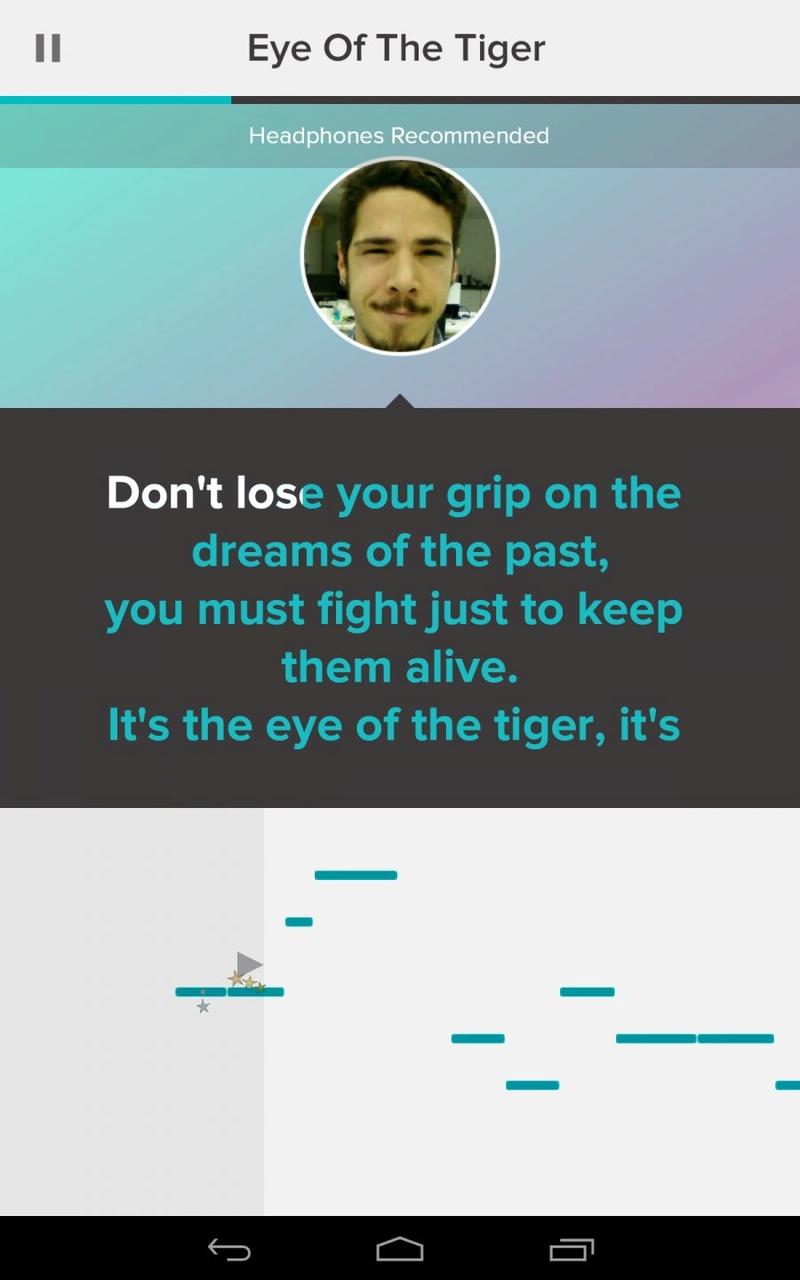 Favorite Apps: Sing! (smule) Sing-k10