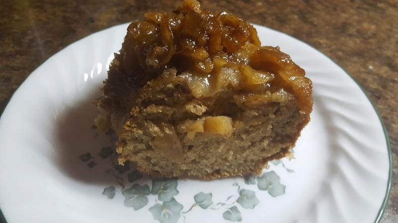 Gâteau aux pommes et crème sûre 20170310