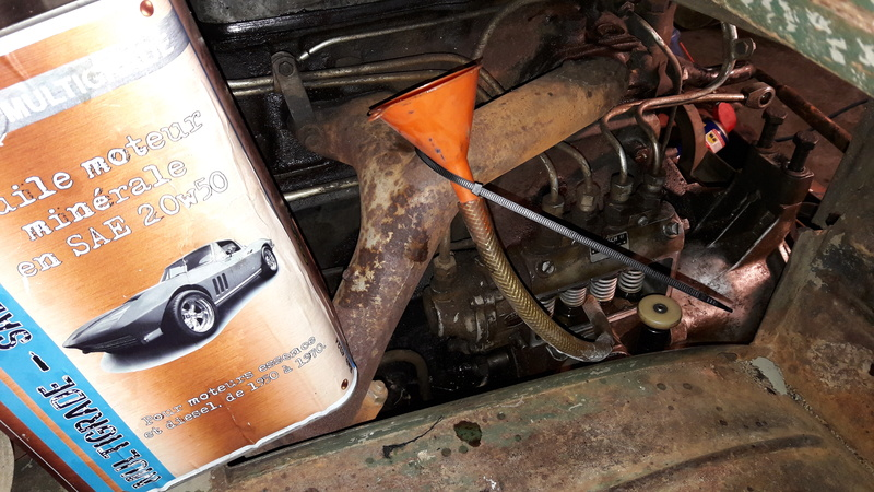 restauration unimog 411 112 par nico 700 raptor - Page 2 20170344