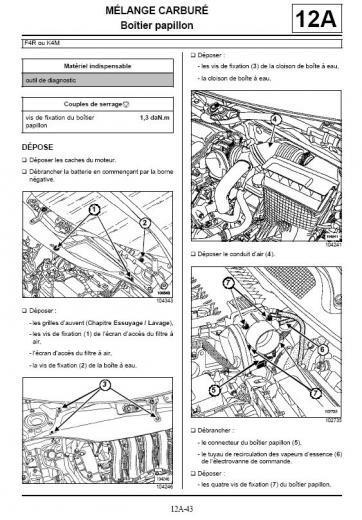 [ Renault Mégane 2 1.9 dci an 2003 ] Montage papillon scenic 2 Captur10