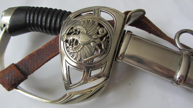 Un KD89 du 3ème Uhlan de la garde à lame gravée Img_6836