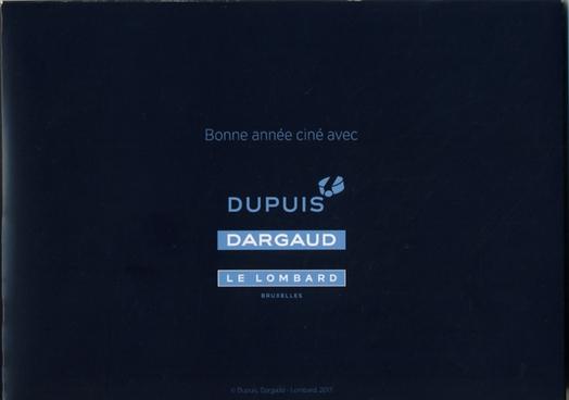 Coffret CP Dargaud Dupuis BD 2017 Dargau11