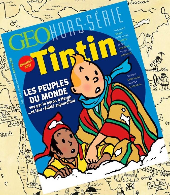 GEO - Tintin et les peuples du monde Tintin13
