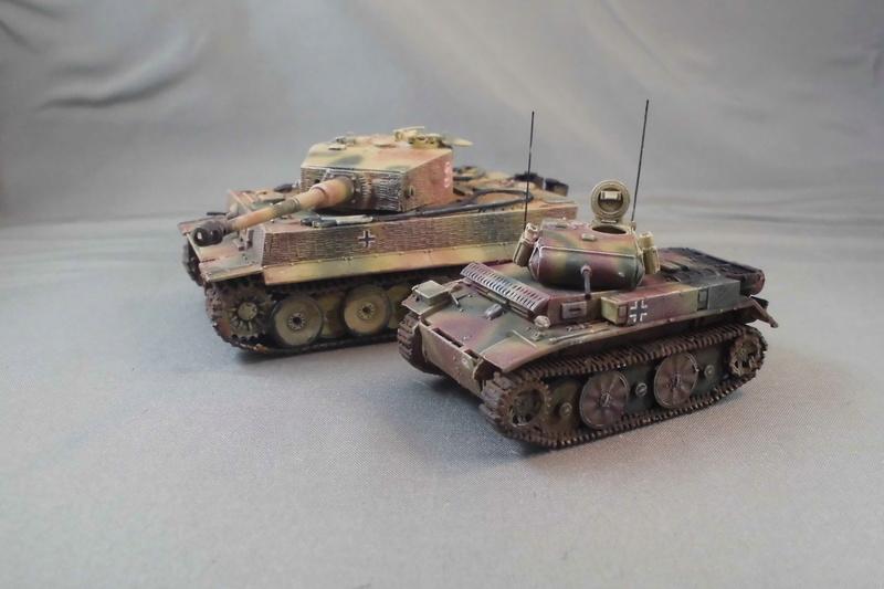 Und noch nen Tiger (und ein Pz II Luchs) Cimg7616