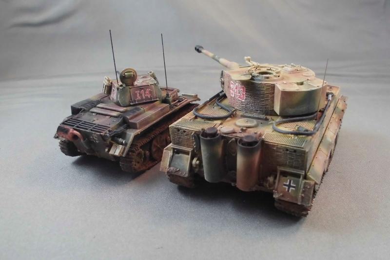 Und noch nen Tiger (und ein Pz II Luchs) Cimg7617