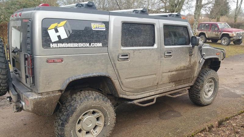 Grizou est arrivé ; Hummer H2 luxury greystone & sedona - Page 15 17190310