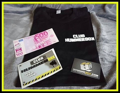 Idée cadeau Hummer : le club Hummerbox relance très prochainement une ligne de produits, alors faites nous des suggestions directement au 06 10 56 44 35 17361510
