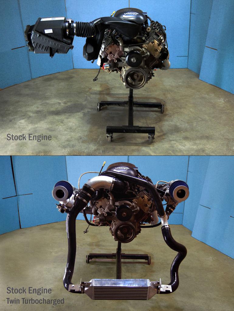 Hummer h2, 2005 installation twin turbo kit S-l16011