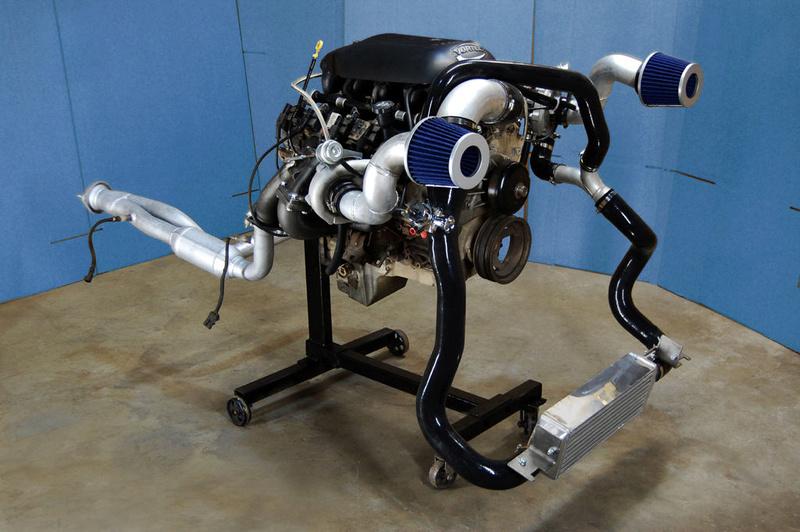 Hummer h2, 2005 installation twin turbo kit S-l16012