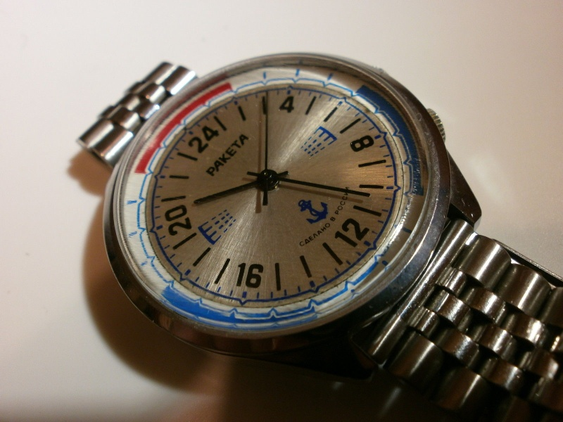 Raketa 24h marine watch Marine11