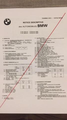 Certificat de conformité bmw - votre avis ? 17204410