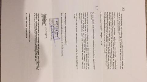 Certificat de conformité bmw - votre avis ? 17238310