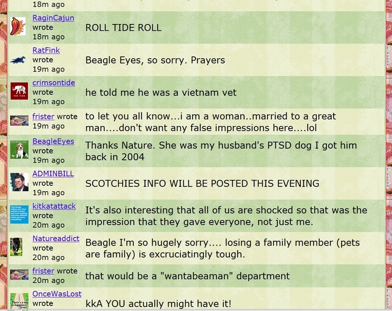 AdminBill Posts Cell Phone Number of Scotchie Scotch11