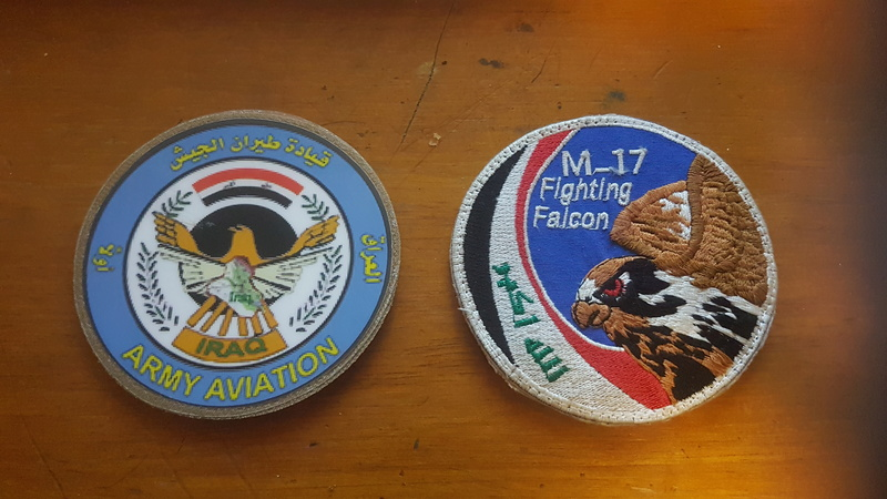 Iraqi Army Aviation Command Patches 20170216