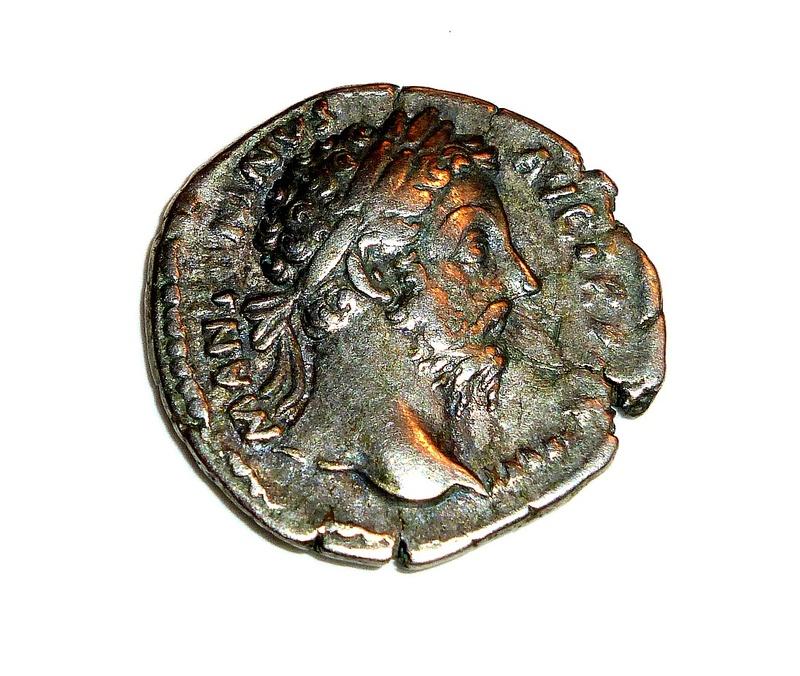 Monnaie romaine à identifier 410