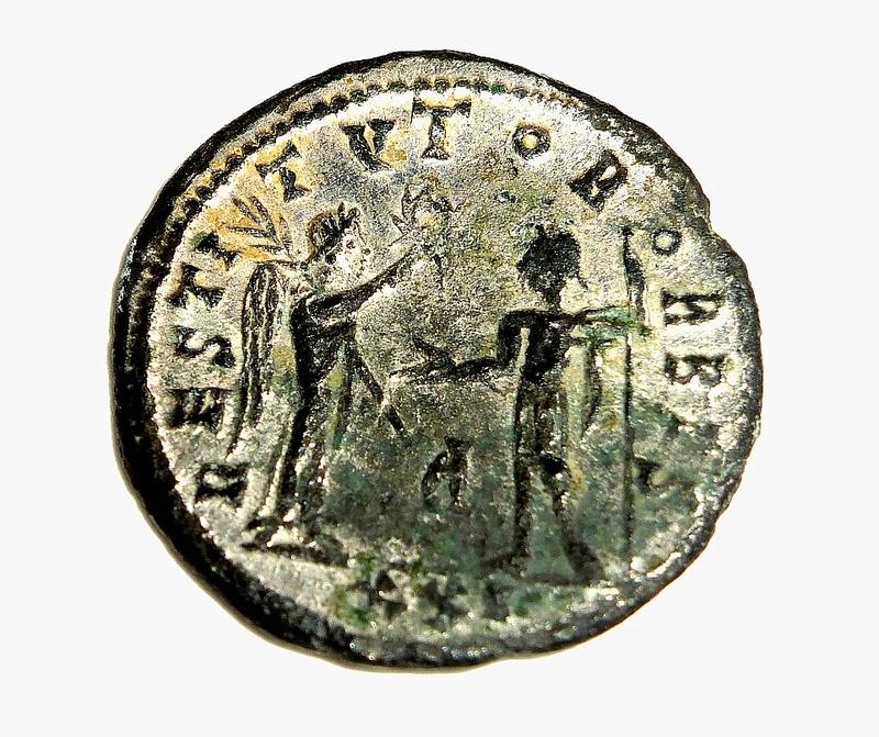 Monnaie romaine à identifier A210