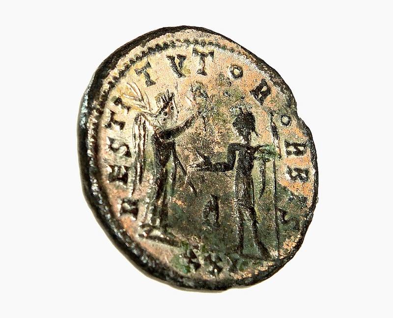 Monnaie romaine à identifier A311