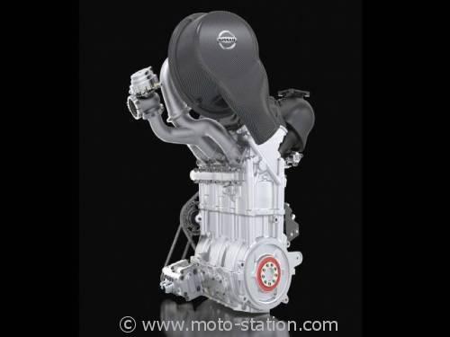 Moteur Nissan DIG-T R : Un trois cylindres auto transposable à la moto ? 0011250