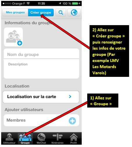 Appli WE RIDE sur smartphones 0011280