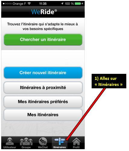 Appli WE RIDE sur smartphones 0011281
