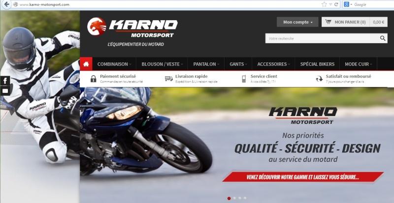 Karno motorsport : équipementier moto français 001581