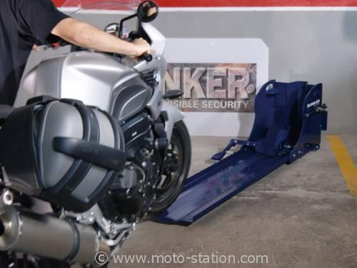 Bunker Park and Roll, l'antivol moto scooter pour parking 001592