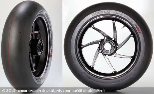 Pneu slick Pirelli Diablo Superbike Pro 002223
