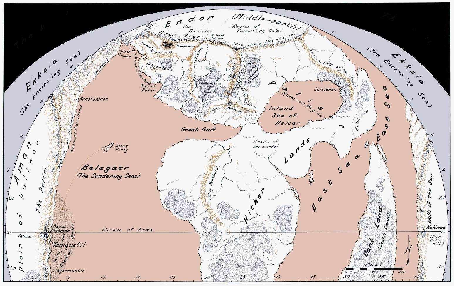 [!] Atlas d'Arda à travers les Âges [!] 1stage11