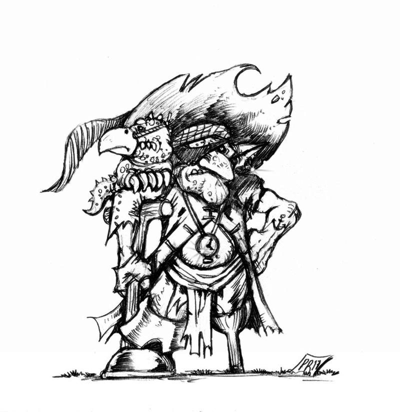 Hungry Troll - Gobs pirates par Pedro Ramos Coach10