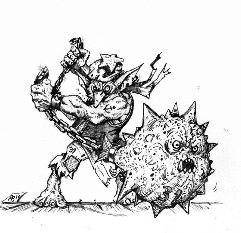 Hungry Troll - Gobs pirates par Pedro Ramos Fanati10