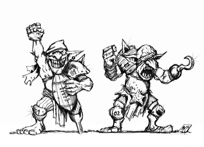 Hungry Troll - Gobs pirates par Pedro Ramos Gobs_110