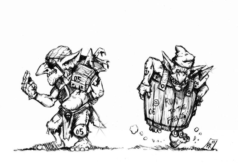 Hungry Troll - Gobs pirates par Pedro Ramos Gobs_510